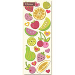 K and Company - Berry Sweet Collection - 3-Dimensional Adhesive Chipboard - Berry Sweet Fruit