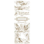 K and Company - Ancestry.com Collection - Rub Ons - Decorative Spencerian