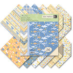K and Company - Itsy Bitsy Collection - 8.5 x 8.5 Designer Paper Pad - Baby Boy