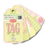K and Company - Perfect For Journaling Tag Pad - Brenda Walton Collection - Small Wonders - Girl