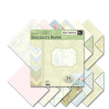 K and Company - Wedding Collection - 12x12 Patterned Cardstock Double Sided - Specialty Paper Pad