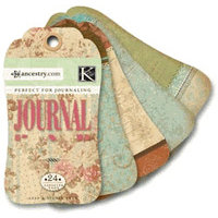 K and Company - Ancestry.com Collection - Journal Tags Pad