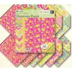 K and Company - Berry Sweet Collection - 8.5x8.5 Patterned Cardstock Double Sided Paper Pad - Berry Sweet