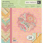K and Company - Wild Raspberry Collection - 12 x 12 Specialty Paper Pad