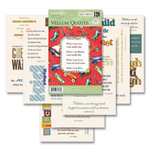 K and Company - Vellum Paper Quote Packs - Quotable Notable - Hopscotch Collection - Boy, CLEARANCE