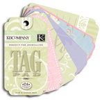 K and Company - Perfect For Journaling Tag Pad - Wedding Collection