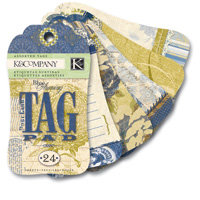 K and Company - Blue Awning Collection - Tag Pad