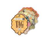 K and Company - Que Sera Sera Collection - Tag Pad