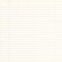 K and Company - 12x12 Paper - Peter Horjus Collection - School Rules Ruled Paper
