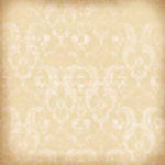 K and Company - Ancestry.com Collection - 12x12 Paper - Beige Damask and Script