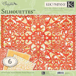 K and Company - Que Sera Sera Collection - 12 x 12 Silhouettes Die Cut Paper Pack
