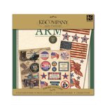 K and Company Paper Kits - Army