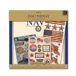 K and Company Paper Kits - Navy