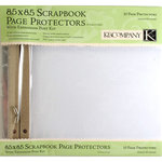 K and Company 8.5 x 8.5 Clear Page Protector Refill Kit