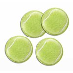 Karen Foster Design - Sports Balls - Adhesive Back - Tennis