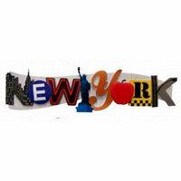 Karen Foster Design - Destination Adhesive Stacked Statement - New York
