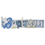Karen Foster Design - Baptism Collection - Stacked Statements - 3 Dimensional Adhesive Title - Baptism