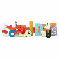 Karen Foster Design - School Collection - Stacked Statements - School Days
