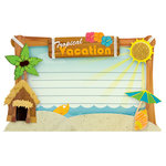 Karen Foster Design - Stacked Stickers - Tropical Vacation