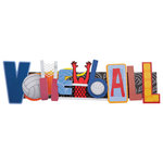 Karen Foster Design - Stacked Statements - Volleyball