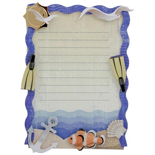 Karen Foster Design - Stacked Statement - 3 Dimensional Adhesive Journaling - Ocean Vacation