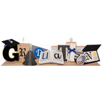 Karen Foster Design - Graduation Collection - Stacked Statement - 3 Dimensional Adhesive Title - Graduation