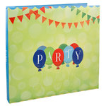 Karen Foster Design - 12 x 12 Postbound Scrapbook Album - Party