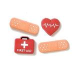 Karen Foster Design - Keepsake Brads - Medical - Ouch - Bandaids - Doctor - Nurse, CLEARANCE