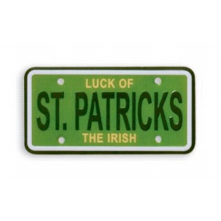 Karen Foster Design - St Patrick's Day Collection - Mini License Plate - St Patrick's