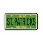 Karen Foster Design - St Patrick's Day Collection - Mini License Plate - St Patrick's