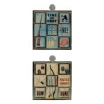 Karen Foster Design - Hunting Collection - Mosaic Tiles - Hunting