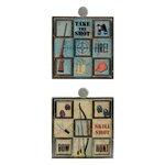 Karen Foster Design - Hunting Collection - Mosaic Tiles - Hunting