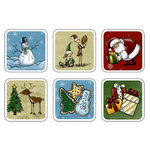 Karen Foster Design - Whimsical Christmas Collection - Chilly Cubes - Holiday