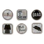 Karen Foster Design - Graduation Collection - Bubble Brads