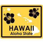 Karen Foster Design - STATE-ments Collection - Self Adhesive Metal Plates - Hawaii