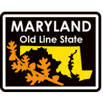 Karen Foster Design - STATE-ments Collection - Self Adhesive Metal Plates - Maryland