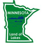 Karen Foster Design - STATE-ments Collection - Self Adhesive Metal Plates - Minnesota