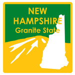 Karen Foster Design - STATE-ments Collection - Self Adhesive Metal Plates - New Hampshire