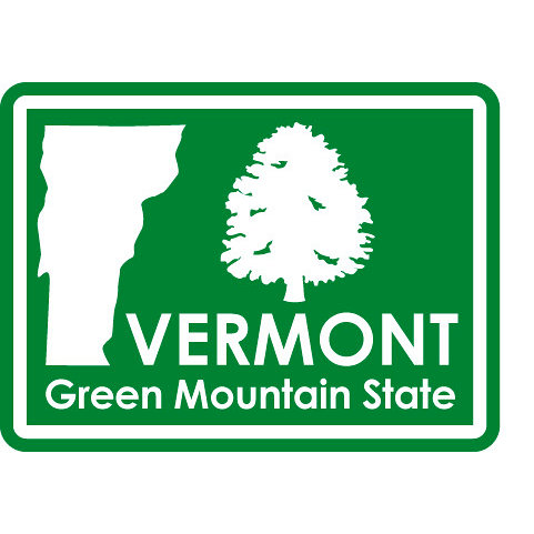 Karen Foster Design - STATE-ments Collection - Self Adhesive Metal Plates - Vermont