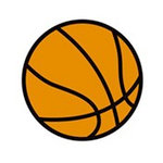 Karen Foster Design - SPORTS-ments Collection - Self Adhesive Metal Plates - Basketball