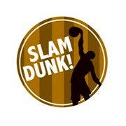Karen Foster Design - SPORTS-ments Collection - Self Adhesive Metal Plates - Slam Dunk