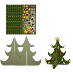 Karen Foster Design - Kids Kraft-It Kit - 3 Dimensional Christmas Tree, CLEARANCE