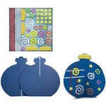 Karen Foster Design - Kids Kraft-It Kit - 3 Dimensional Ornament, CLEARANCE