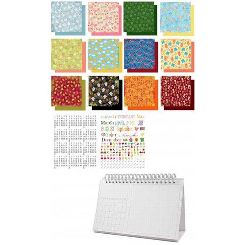 Karen Foster Design - Desktop Flip Calendar Kit