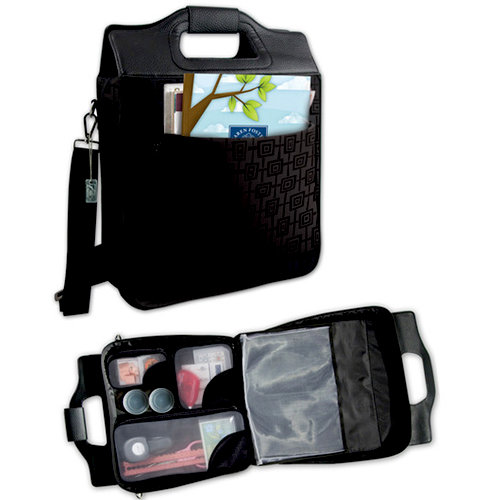 Karen Foster Design - Manhattan Scrap-N-Style Tote - Black