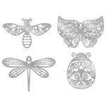 Karen Foster Design - Thin-ments - Metal Brads - Flying