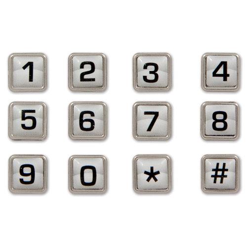 Karen Foster Design - School Collection - Bubble Brads - Numbers