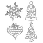 Karen Foster Design - Christmas Collection - Thin-ments - Metal Shapes