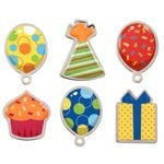 Karen Foster Design - Birthday Collection - Bubble Brads - Party
