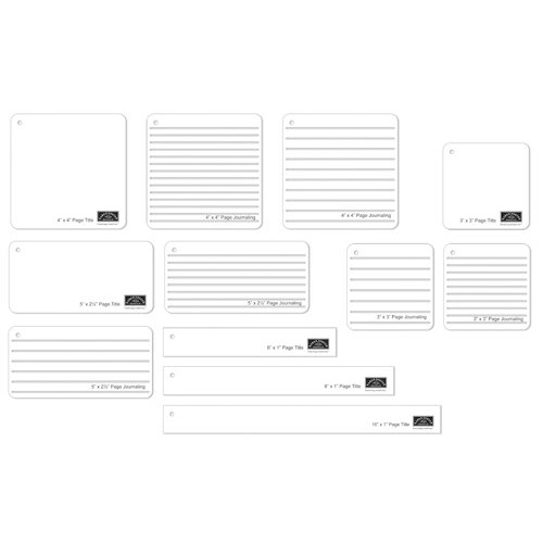 Journaling Templates | Karen Foster Design Map A Page Collection Layout Templates